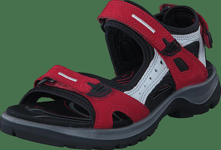 Sandales de randonnée femme - rouge de la marque ECCO