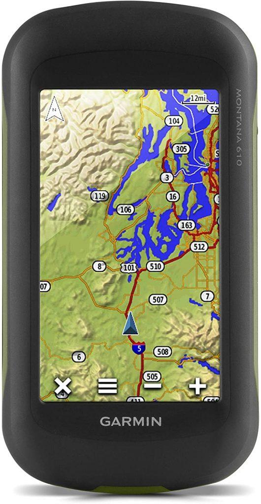 Le GPS de randonnée Garmin Montana 610